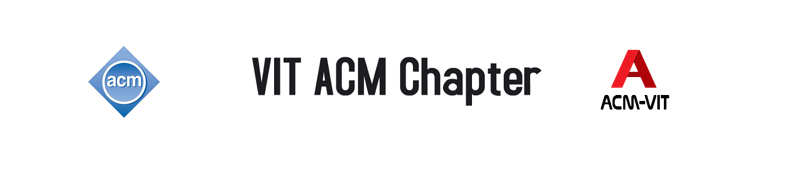 VIT ACM Student Chapter 2013